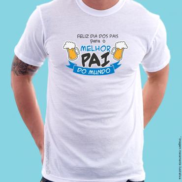 1e479712a Camiseta Personalizada Melhor Pai do Mundo – Cervejas